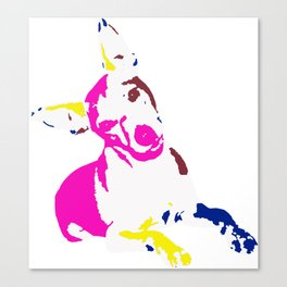 Its a dogs life! Canvas Print