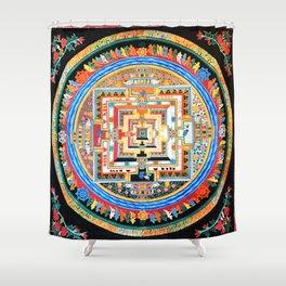 Mandala Buddhist 8 Shower Curtain
