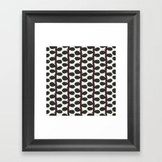 Like a Leaf [red spots] Framed Art Print