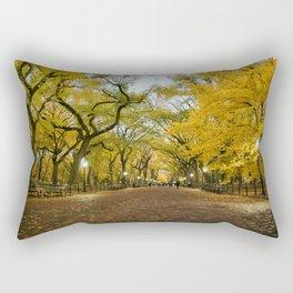 Central Park New York City Rectangular Pillow