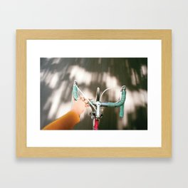 For a ride Framed Art Print