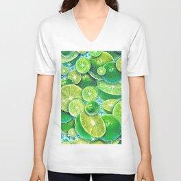 Lime Time Unisex V-Neck