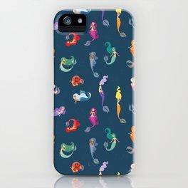 Many Mermaids iPhone Case