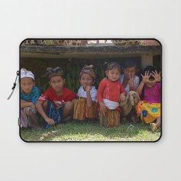 Children in Bali - Ellie Wen Laptop Sleeve