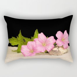 Pink Still life Rectangular Pillow
