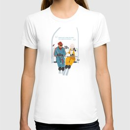 Les Bronzés font du ski - Fanart movie poster T-shirt