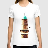 israel T-shirts featuring Al-Bahr Mosque, Jaffa, Israel by Philippe Gerber