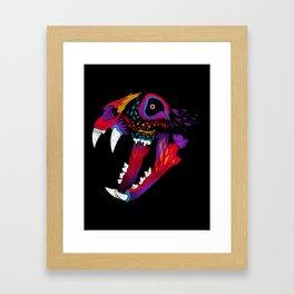 El Gato Muerto Framed Art Print