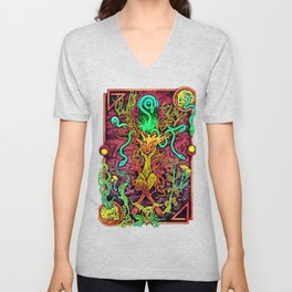 Mother of Serpents Unisex V-Neck