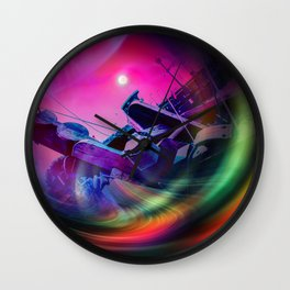 Our world is a magic - Time Tunnel 2 Wall Clock