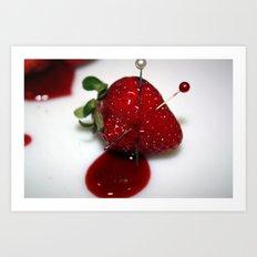Bleed (1) Art Print