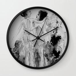 Conversation, drawing Wall Clock