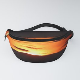 Natural Abstract Sunset Fanny Pack
