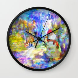Be Happy in New 2016 Year ! Wall Clock