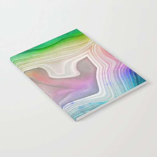 MINERAL RAINBOW Notebook