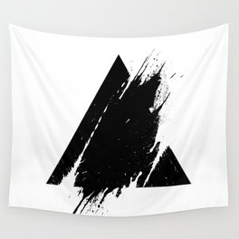 Splashed Triangle Wall Tapestry