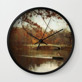Autumn's Wonder Wall Clock