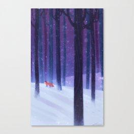Paw Prints Canvas Print