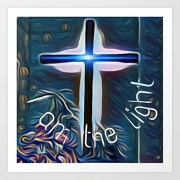 I am the light Art Print