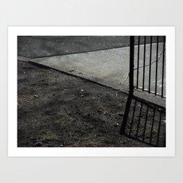 Fence'd Art Print