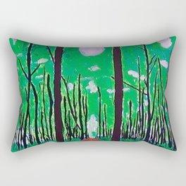 Guiding Spirit of the Forest Rectangular Pillow