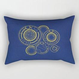 The Doctor's Past Rectangular Pillow