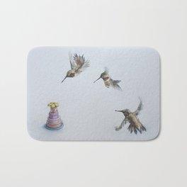 Hummingbird Party Bath Mat
