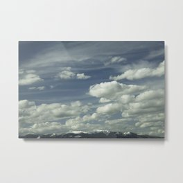 Montana Big Sky Metal Print