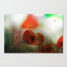 Rain, Rain, Rain, please go away! Canvas Print