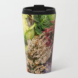 Vegetable pattern Travel Mug