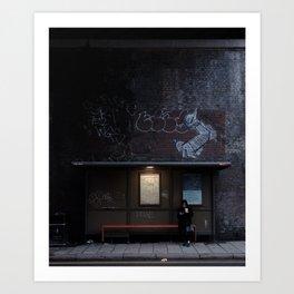 London Travel Photo, Shadow Wall Art, Fine Art Print, Minimalist Photo Print, Modern Wall Decor, Dark, Street Photography Art Print