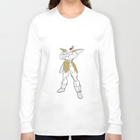 vegeta Long Sleeve T-shirts featuring Suit Up Vegeta by chrispanda