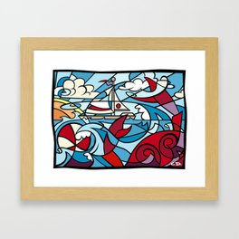 Maryland Bay Breeze Framed Art Print