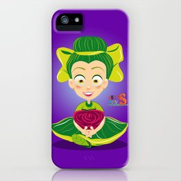 Mariette/Character & Art Toy design for fun iPhone Case