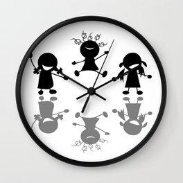 Happy Kids Wall Clock