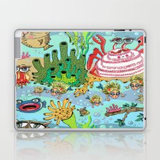 Mini Mermaids and Friends Laptop & iPad Skin