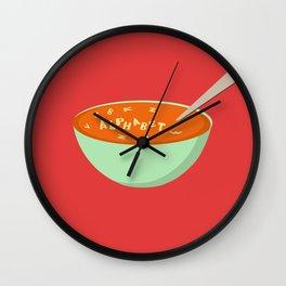 Alphabet Soup Wall Clock