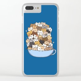 Cute Clear iPhone Case