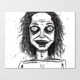 CRAZY DUDE Canvas Print