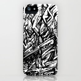 Insurance Information iPhone Case