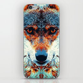 Wolf - Colorful Animals iPhone Skin