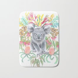 Home Among the Gum leaves Bath Mat