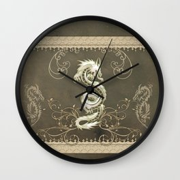 Beautiful chinese dragon Wall Clock