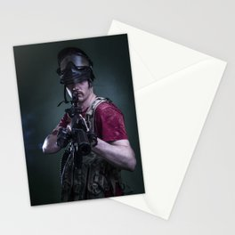 Paintball Soldier Stationery Cards