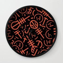 TØP Stickers - Original Logo Red Wall Clock