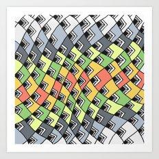 MPANGA 1 Art Print