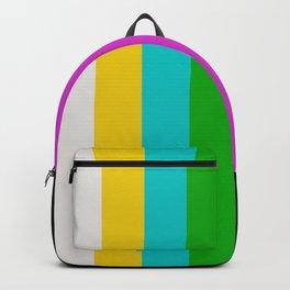 TV color bars Backpack