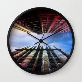 Warm Cool Garland Wall Clock