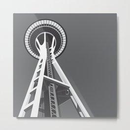 Space Needle Metal Print