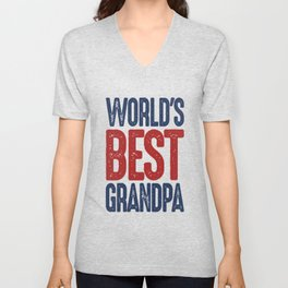 Gift for Grandpa Unisex V-Neck
